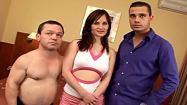 The Adventures Of Mario The Midget and the Brunette Slut Sandra Black