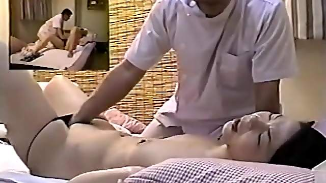 Hidden Cam Spying Japanese Massage To Girls At Home