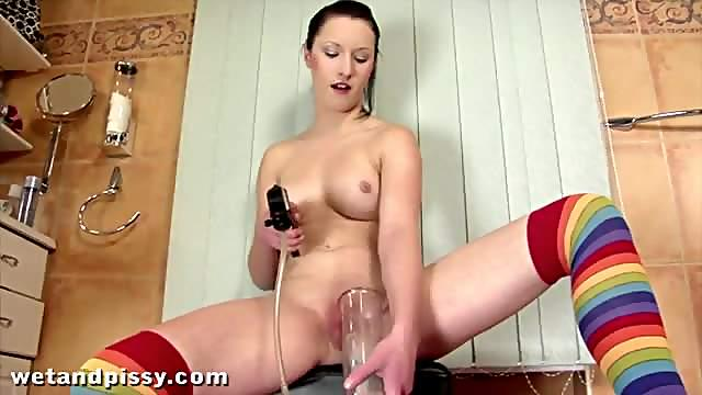 Pumping Her Piss