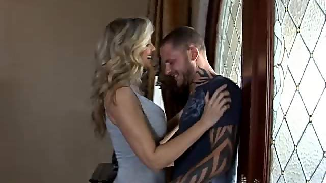 Blonde MILF Julia Ann Always Has a Big Dick At Hand To Fuck