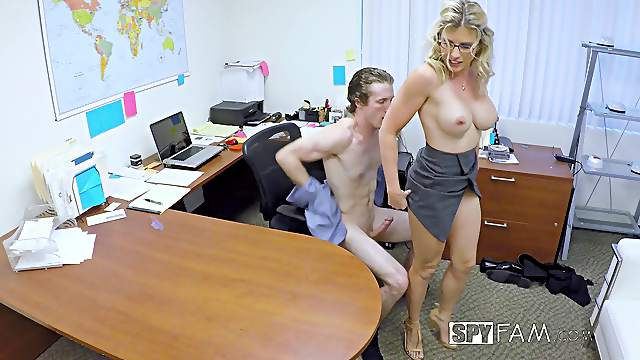 Cory Chase i an insatiable office worker who wants to shag