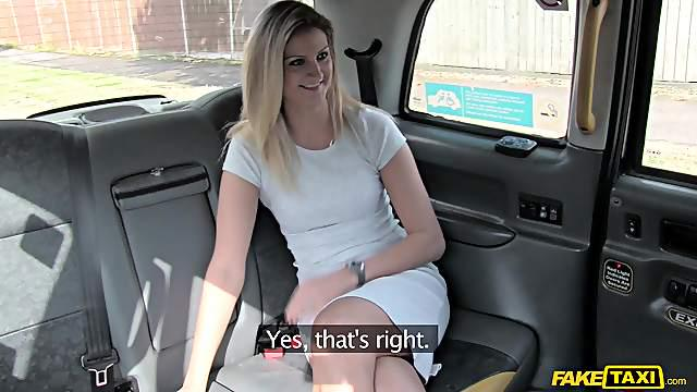 Blonde girl Eva likes hard fuck and strong facial with a stranger