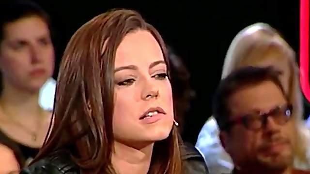 Polish celebrities Anna Mucha