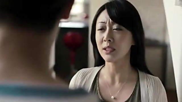 Cute Japanese stepmom