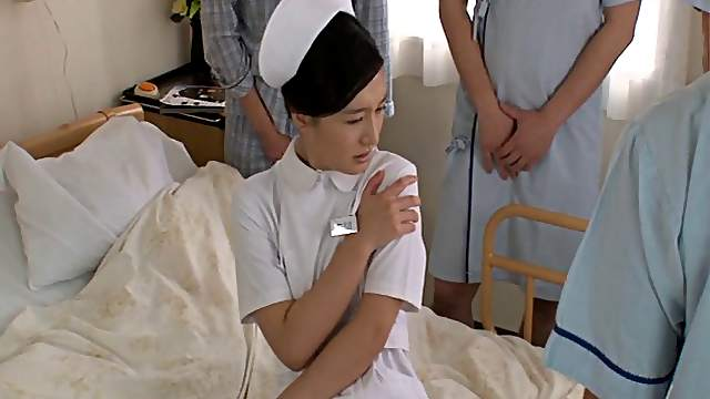 Compilation of porn movies with Japanese nurse Iori Kogawa