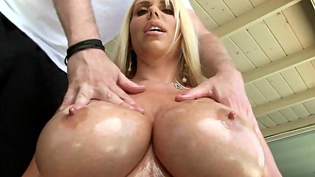 Jonni Darkko fucks tits of Karen Fisher
