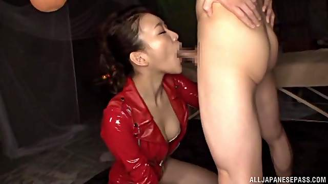 She will do anything to please her customers including a rimjob