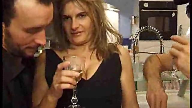 Slutty wife fucked by hubby's friend
