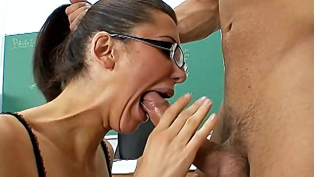 Perfect classroom fuck with a hot teacher